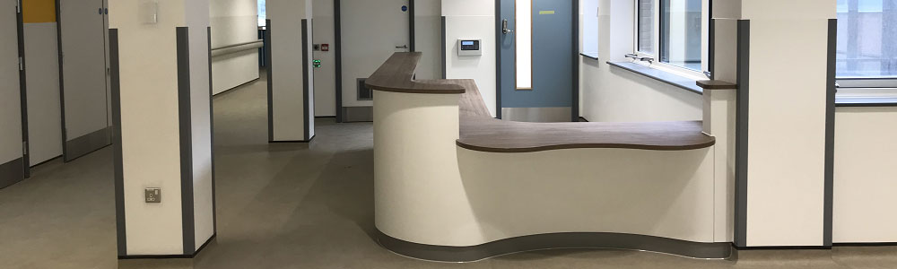 Queen Mary Hospital - Middlesex Carpentry project